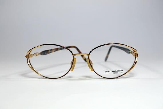 Vintage glasses. Oversize Eyewear. Brand PACO RABA