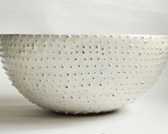 handmade ceramic sink oval table top sink made to order bathroom sink Fiery fish scales