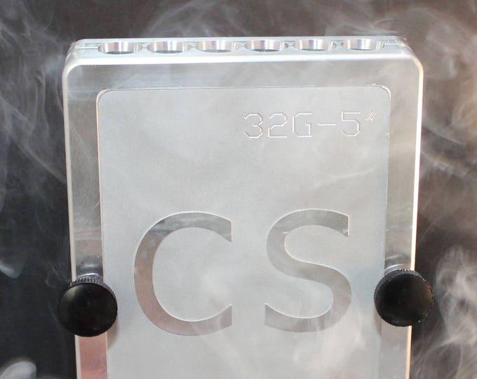 "Featured listing image: Teflon® coated 5"" Aluminum Cigar Mold / Press - Cannagar Mold"