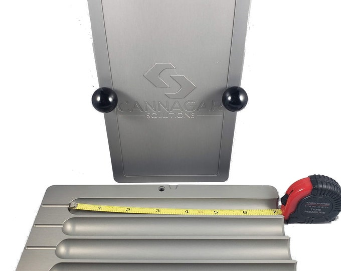 "Featured listing image: 7"" PHATSTYX 46g, 52g & 58g Aluminum Cigar Mold / Press - Cannagar Mold - Teflon® coated"