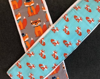 Sophisticated Foxes - Burp Cloth