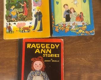 Raggedy Ann and a flip book