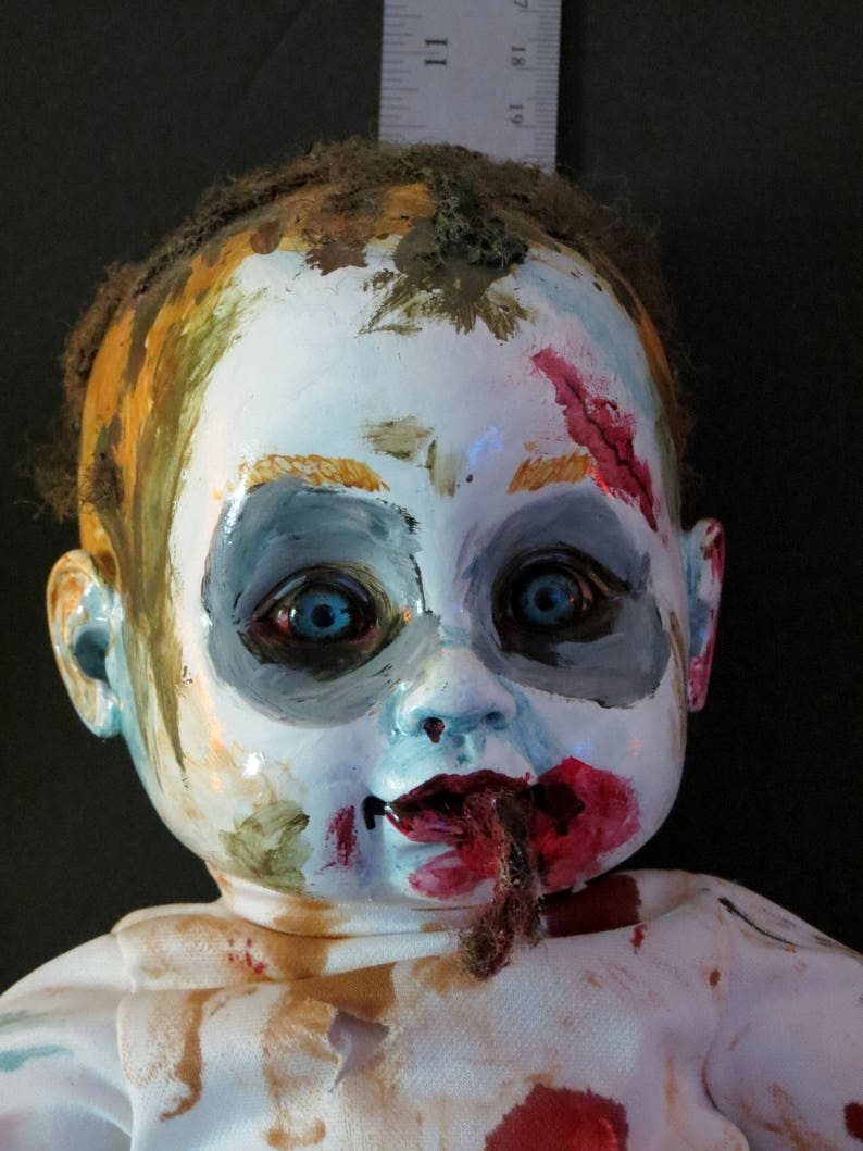 One of a kind horror baby zombie baby Living dead baby Zachary Zombie