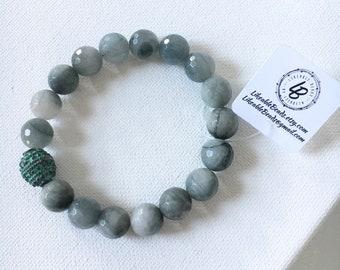 Beaded stretch bracelet. Layering bracelets. Stack bracelets. Boho stack bracelets. Artisan beaded jewelry. Boutique jewelry.
