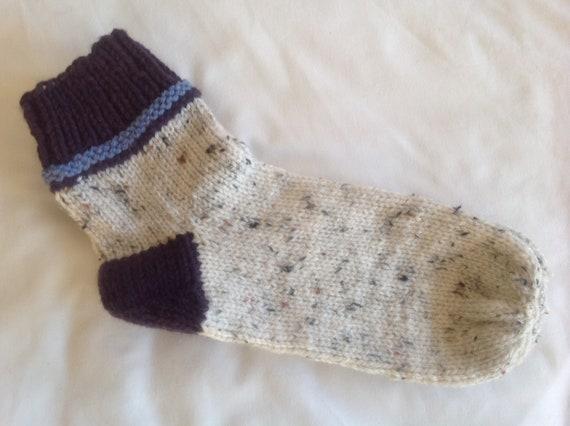 Lovely Bespoke Aran Tweed Ladies Socks Free Shipping Uk 7 Etsy