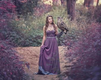 Limited Edition 8x12 Fantasy Print featuring an Eurasian Eagle Owl | Owl, Fantasy, bird of prey, Eurasian Eagle Owl, Dark, Magical