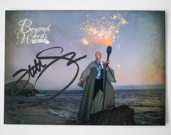 Signed Tad Williams *5x7* photo print from the 2014 Beyond Words fantasy author calendar