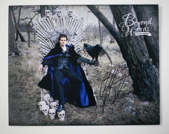 Signed Christopher Paolini *8x10* photo print from the 2014 Beyond Words fantasy author calendar
