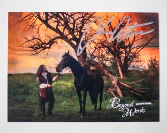 Signed Jim Butcher *8x10* photo print from the 2016 Beyond Words fantasy author calendar