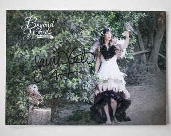 Signed Lauren Kate *8x10* photo print from the 2014 Beyond Words fantasy author calendar