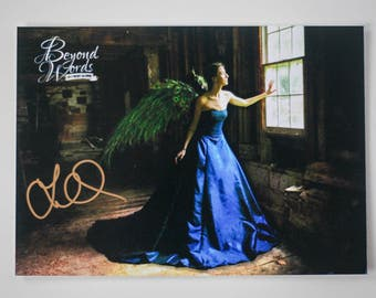Signed Lauren Oliver *8x10* photo print from the 2014 Beyond Words fantasy author calendar