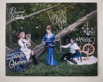 Signed The Merry Sisters of Fate *8x10* photo print from the 2014 Beyond Words fantasy author calendar | Stiefvater, Gratton, Yovanoff
