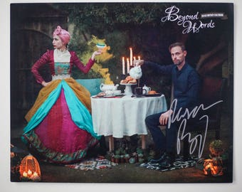Signed Ransom Riggs *8x10* photo print from the 2016 Beyond Words fantasy author calendar