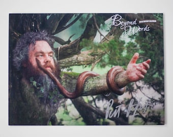 Signed Patrick Rothfuss *8x10* photo print from the 2016 Beyond Words fantasy author calendar