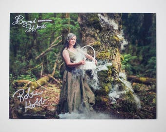 Signed Robin Hobb *5x7* photo print from the 2016 Beyond Words fantasy author calendar