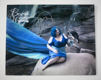 Signed Holly Black *8x10* photo print from the 2014 Beyond Words fantasy author calendar