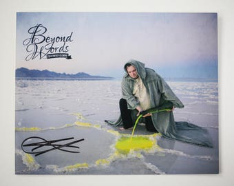 Signed Brandon Sanderson *5x7* photo print from the 2014 Beyond Words fantasy author calendar