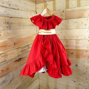 Elena of Avalor birthday dress Elena of Avalor dress for girls with accessories Elena of Avalor dress Princess tote bag Christmas gift