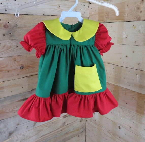 97ea1cc201f8 Chilindrina chilindrina costume baby dress baby birthday