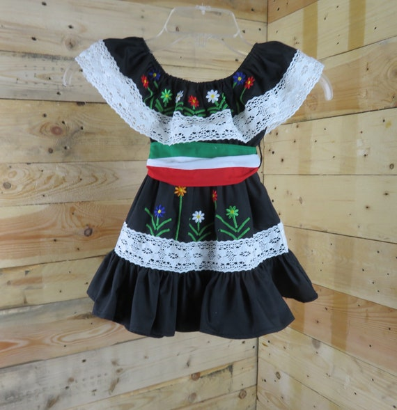 Baby dress, Mexican baby dress,fiesta dress, fiesta outfit, cinco de mayo outfit, baby/toddler girl Mexican dress,little girl dress.