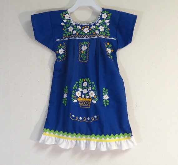 2a3b934bc Baby dress 18/24m Mexican baby dress baby dress by | Etsy