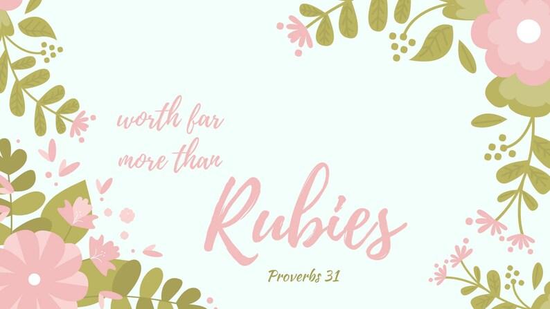 Scripture Verse Desktop Wallpaper Etsy
