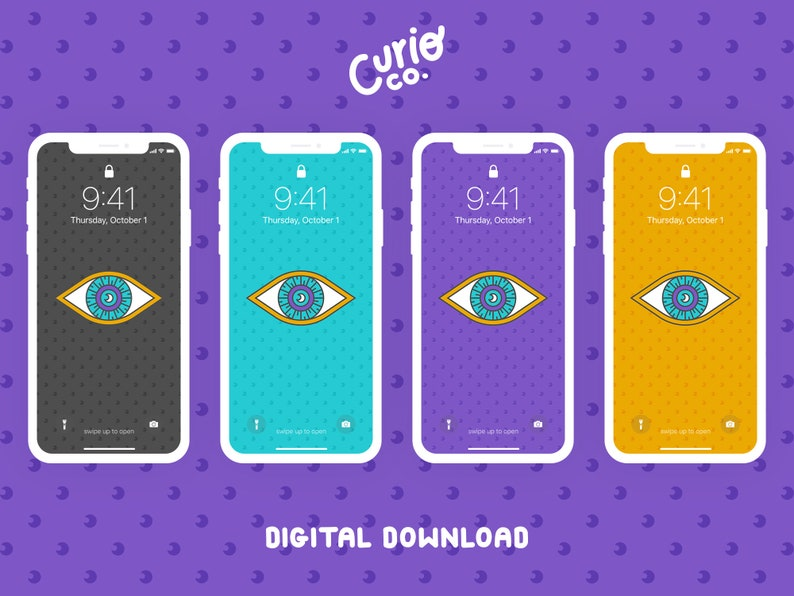 All-Seeing Eye Mobile Wallpaper Pack  Magic Phone Background image 1