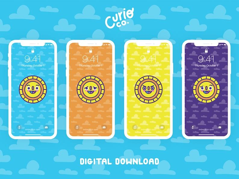 Sunny Mobile Wallpaper Pack  Sunshine Phone Background Bundle image 1