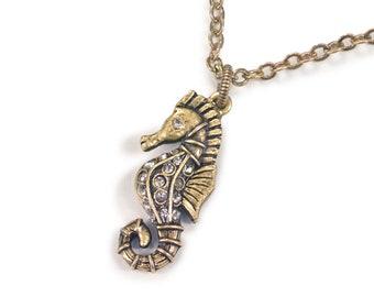 Seahorse Ocean Necklace N1545