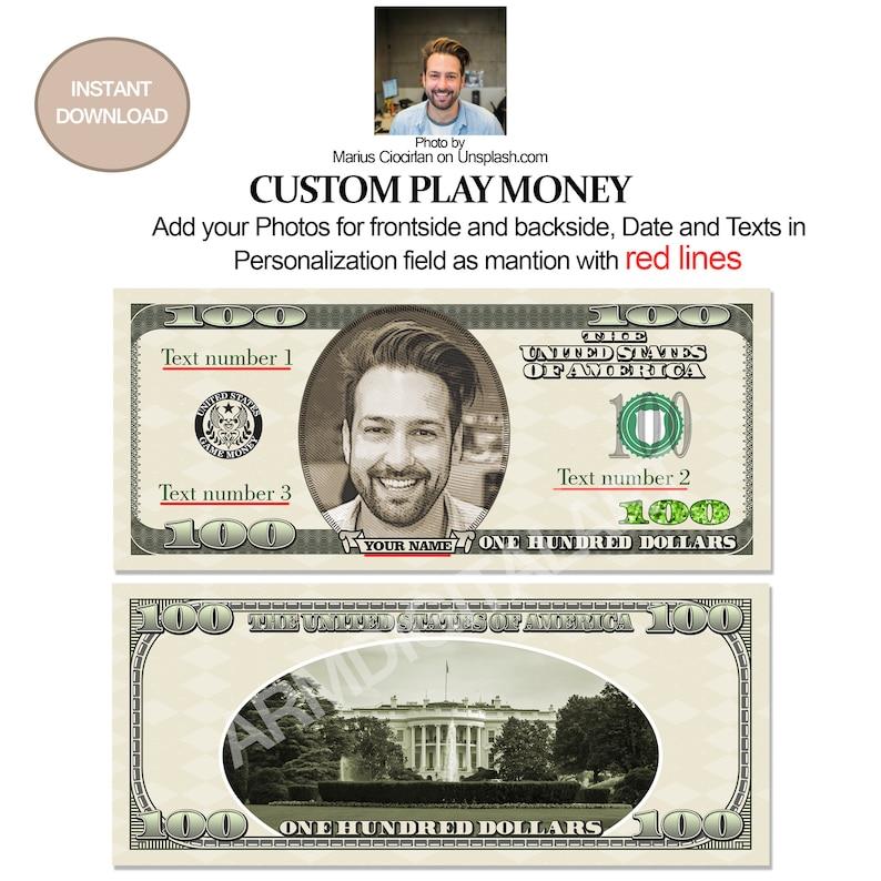 Fake Money Money Bill Art 20 Dollar Bill Digital Money