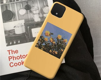 Yellow Flowers Google Pixel 5 4a 5g 3 Google Pixel 2 xl OnePlus Nord 7 pro OnePlus 6t mobile cell phone covers Google Pixel 4 xl case c80