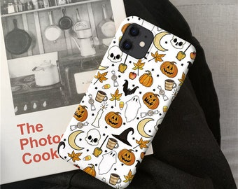 Halloween iPhone 11 Pro Max case iPhone XR case iPhone XS Max Case iPhone X Case iPhone 7 Plus iPhone 8 Plus case iPhone 6 case o65