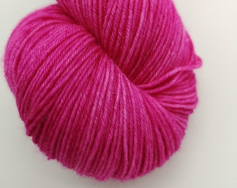 Pink Hand Dyed New Zealand Sock yarn - In the Pink