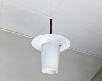 Danish design hanging lamp - Mid Century Modern pendant light - 1960s