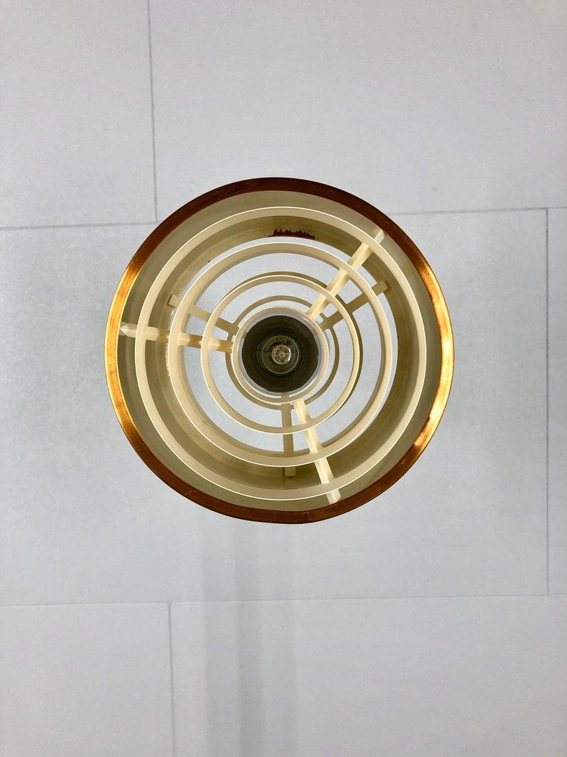 Jo Hammerborg Era Brass Mid Century Modern Pendant Light Danish Design Hanging Lamp 1950s