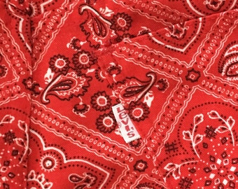 70's Levis Rare Bandana Print Jeans