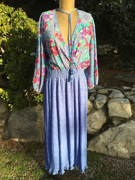Vintage Diane Freis 80's Lovely Dress!  Size Sm/Me