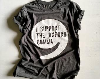 Oxford Comma Shirt