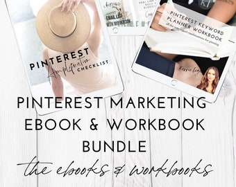 Pinterest Marketing 2-eBook & 3 Workbook Bundle