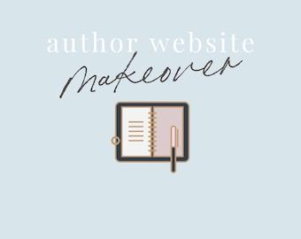Author Makeover - Branding, Sales Funnel, 3rd Party Email Integration, Theme Design, Scene Mockups, Website Design