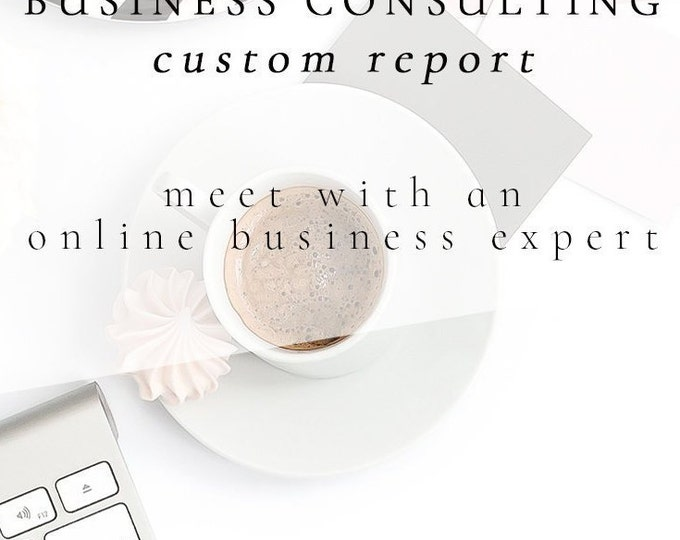 Custom Business Consulting Report