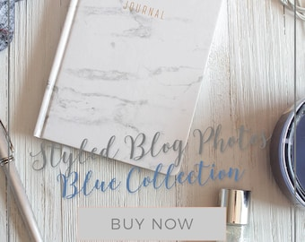 Blue Styled Stock Photography Bundle