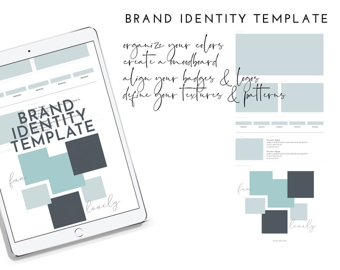 Brand Identity Template | PSD Template | Branding Template