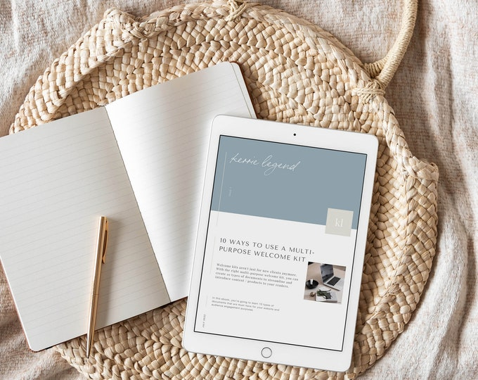 eBook PDF - 10 Ways to Use a Welcome Kit Template