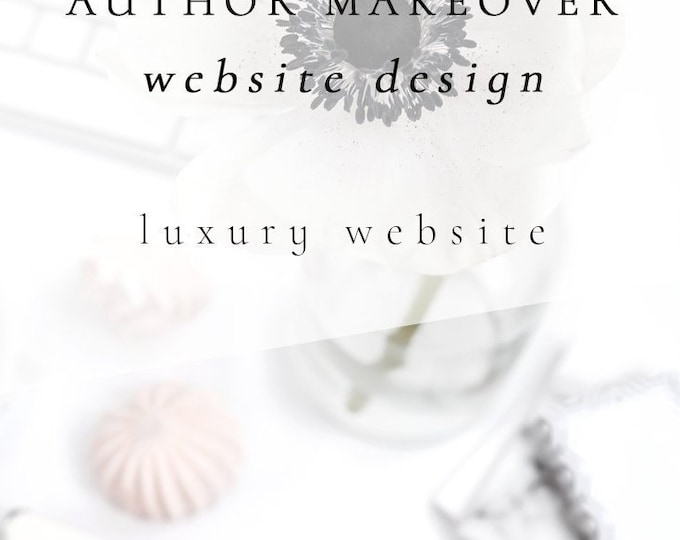Author Makeover - Branding, Sales Funnel, 3rd Party Email Integration, Theme Design, Scene Mockups, Website Design