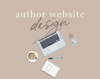Author Website Design - 20 Pages, Enhanced for Search Engines, Includes over 100 Digital Assets & Content Upgrades