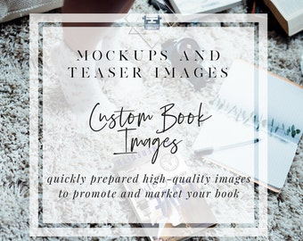 Book Mockup & Book Teaser Images | Indie Author Publishing | Graphic Designer Mockups | Unique Mockups | Image Apothecary Mockups