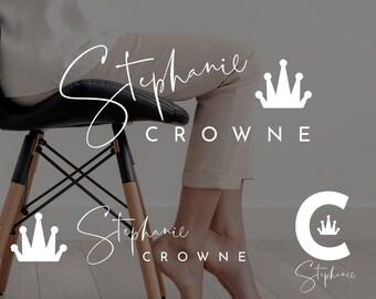 Blogger Logo, Premade Blogger Logo, Branded Logo, Feminine Theme, Feminine Branding, Feminine Logo, Watermark, Photography Logo