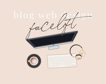 Blog Facelift: Author Website Design - Theme, 3rd Party Email Integration, Banner Images, Homepage or Landing Page Design