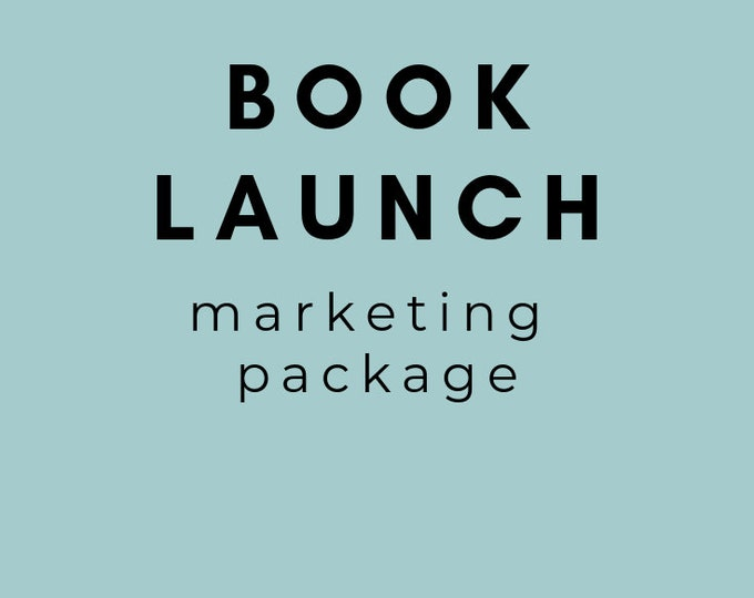 Book Launch Media Package